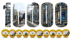 December 2005: First time in breaking the annual sale record of 10000 sets of electric actuators;