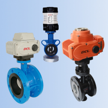 DCL Electric Butterfly Valve(Adjusting, cutting off, explosion-proof type optional)